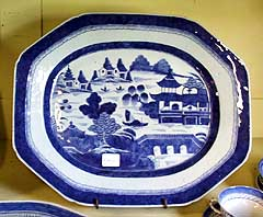 Canton China plate